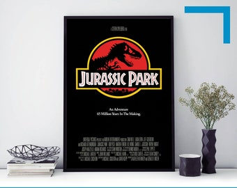 JURASSIC PARK 1993 90s ORIGINAL NEW ART CINEMA MOVIE FILM PRINT PREMIUM POSTER