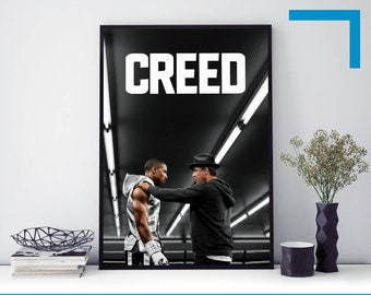 Creed Stallone Boxing Action Movie 24x36 art photo silk Poster print