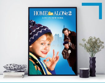Home Alone 2 Poster Etsy