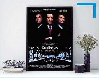 GOODFELLAS SIGNED Movie Art Silk Poster 12x18 24x36
