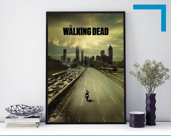 "THE WALKING DEAD DARYL DIXON FAITH SIZE: 24/"" x 36/"" TV SHOW POSTER // PRINT"