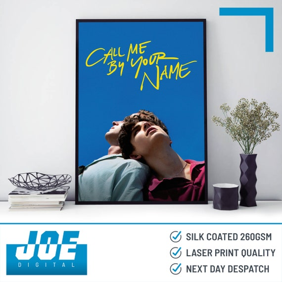 Movie Film Poster Print A3 A4 A5 Home DecorWall ArtPicture 2017 Call Me by Your Name