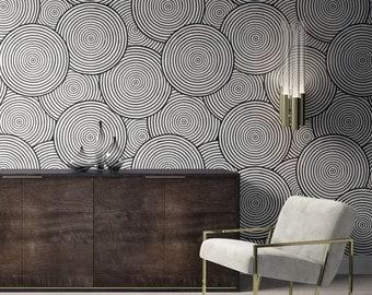 Minimalist Removable Wallpaper. Abstract Wallpaper. Modern Wallpaper. Peel and stick Wallpaper. Self-adhesive Wallpaper. 304