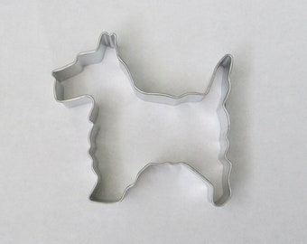 Scottie Dog Cookie Fondant Icing Cutter Cake Decorating