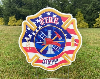 CHARLESTON FIRE DEPT Home Decor Metal Sign Police Gift 106180013752
