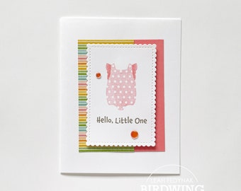 Hello Little One Girl Card