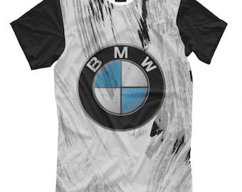 BMW 5 Shift Knob Emblem M3 M5 Power Performance Men/'s Black T-Shirt Size  S-2XL