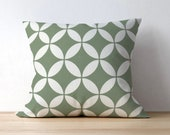 Outdoor Geometric Pillow Cover, Radiant Mirage, Outdoor Decor, Patio Decor, Outdoor Throw Pillows, Outdoor Seating