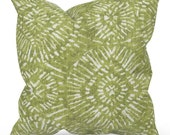 Green Outdoor Pillow Cover, Green Patio Pillow, Green Patio Cushion, Lime Green Outdoor Cushion, Premier Prints Borneo Greenery