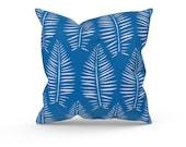 Blue Outdoor Pillow Cover - Blue Outdoor Decor - Blue Patio Pillow - Blue Patio Cushion - Premier Prints Breeze Admiral