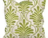 Green Outdoor Pillow Cover, Green Patio Pillow, Lime Patio Cushion, Green Outdoor Cushions, Premier Prints Ecuador Greenery Luxe