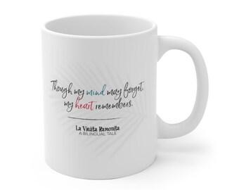 La Viejita Ramonita: A Bilingual Tale - Quoted White Ceramic Mug (11 oz)