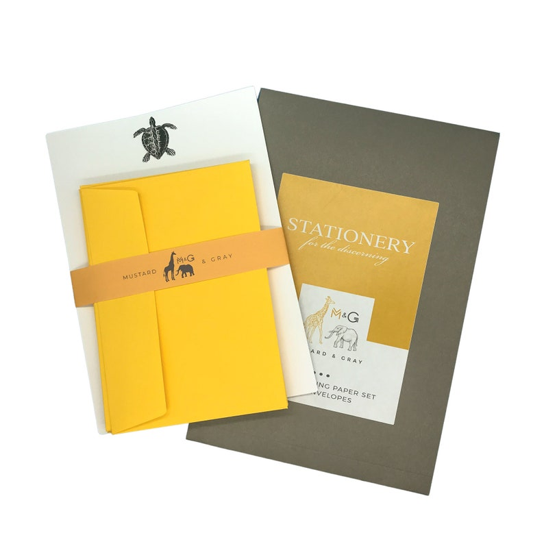 26. Turtle Letter Writing Set