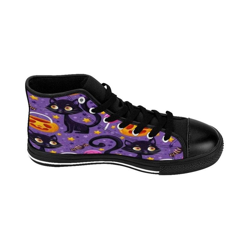 Donne High-top Sneakers Lovely Cat Halloween Halloween dzkNNHXB