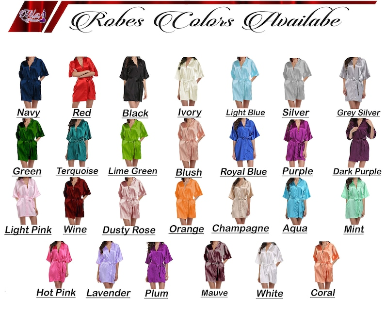 Customize Lace Robes Satin Lace Robes Personalized Lace Robes Wedding Lace Robes Bridal Lace Robes Bridesmaid Lace Robes Gift For Bridesmaid