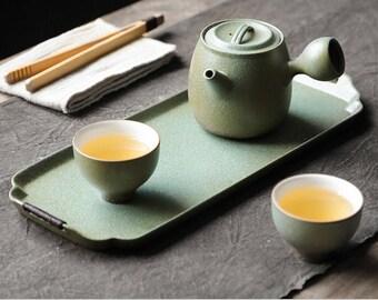 Handmade tea set gift set Japanese tea set Tea ceremony set