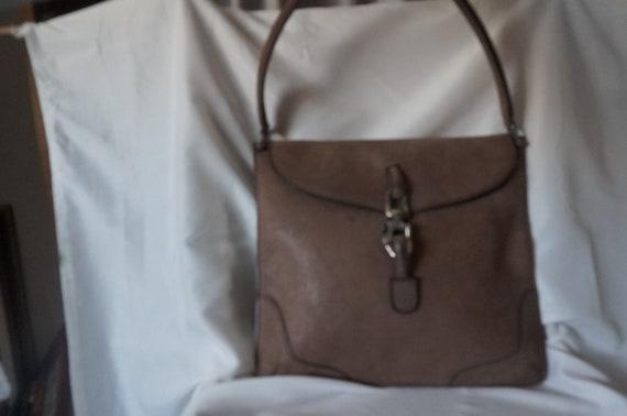 Genuine Leatherbag,  shoulder bag, brown bag with