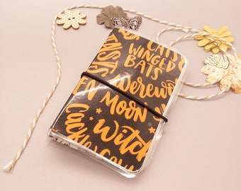Halloween Witch-iness Micro Traveler Notebook