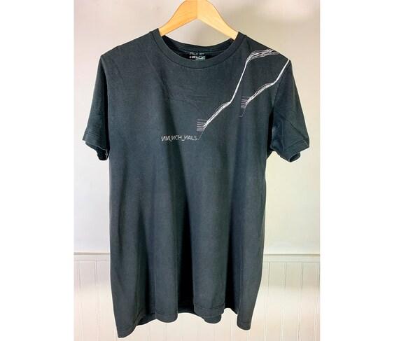 "2006 Nine Inch Nails t-shirt ""With Teeth"""