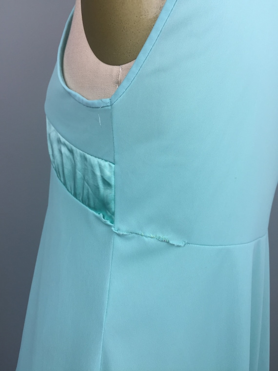 Mint Green 1970's Two Piece Nightgown - image 5