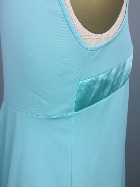 Mint Green 1970's Two Piece Nightgown - image 6