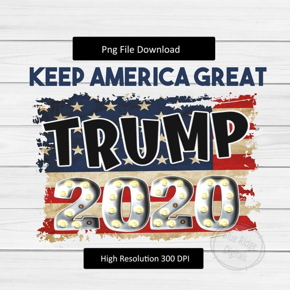 digital download *Trump Pence Keep America Great tshirt graphic with transparent background*instant download