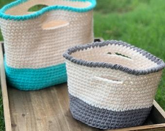 Crochet Bag Pattern | Float Tote Mini (Digital Download - PATTERN ONLY)