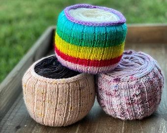 Cozy Knitting Pattern   Yarn Cozy Lite (Digital File - PATTERN ONLY)