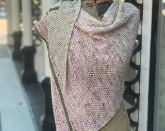 Shawl Knitting Pattern | Louisiana Street (PDF Download - PATTERN ONLY)
