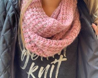 Scarf Knitting Pattern | Lussuoso (Digital Download - PATTERN ONLY)