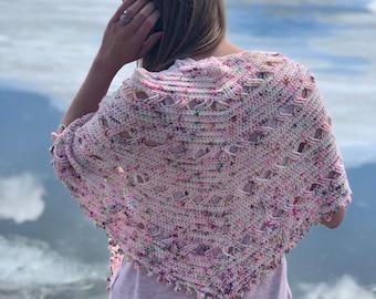 Shawl Crochet Pattern | Playtime Shawl (PDF Download - PATTERN ONLY)