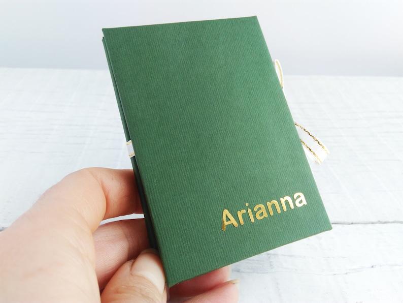 Small accordion books St Patrick/'s day or Birthday gift idea Instax mini photo album 2x3
