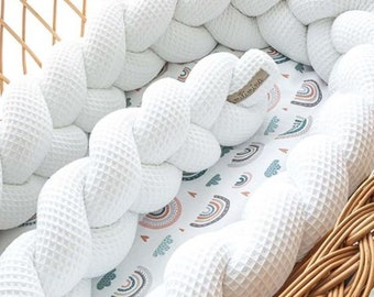 Bed snake nest snake bed border braided in different colors and patterns by Milimina