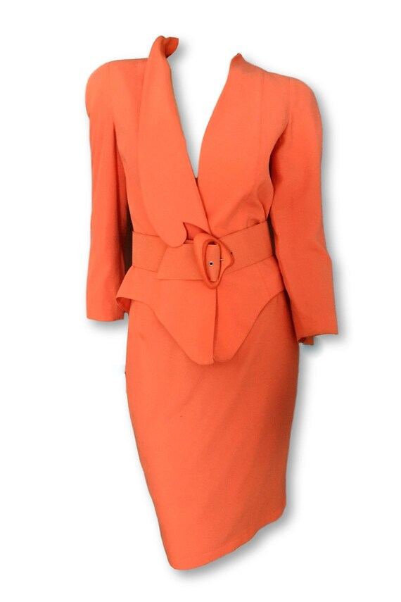 Vintage Thierry Mugler power suit