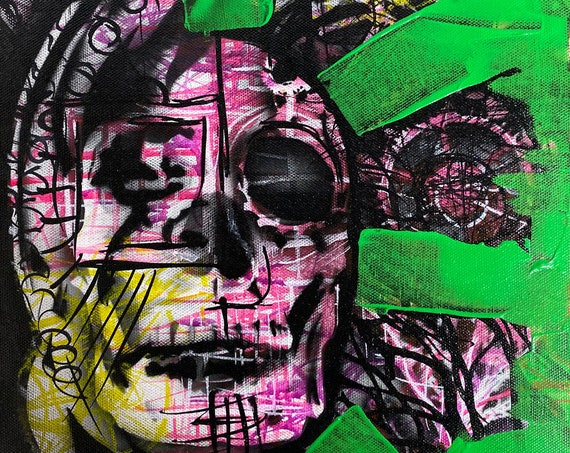 Skull Study Series #31, Pop Art , Modern Art , Contemporary Art
