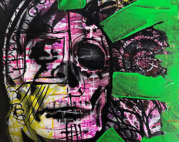 Skull Study Series #31, Pop Art , Modern Art , Contemporary Art