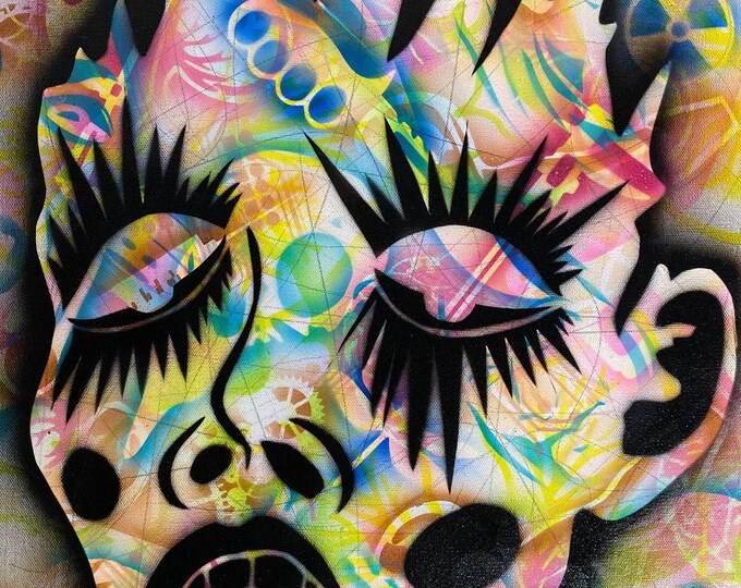 Bionic Surrealism Series #4 , Pop Art , Modern Art , Contemporary Art , Surrealism , Gallery Canvas