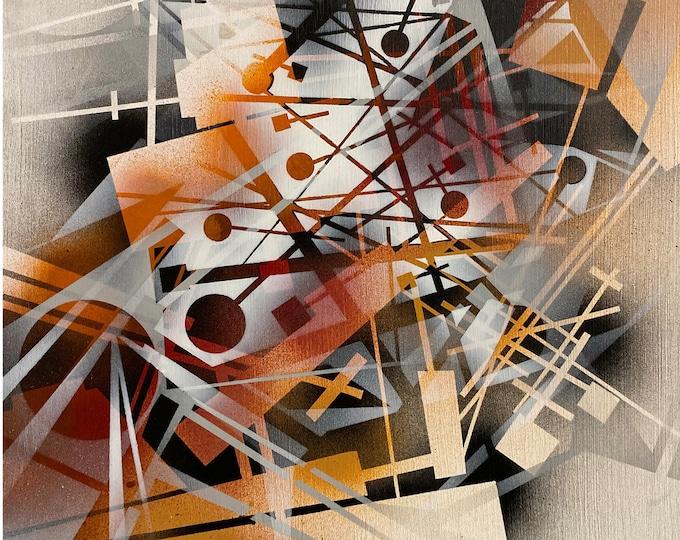 Chaotic Geometry Series #12 , Pop Art , Modern Art , Contemporary Art