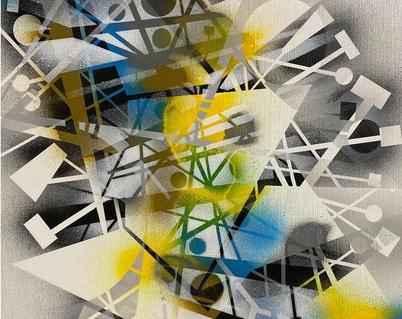 Chaotic Geometry Series #11 , Pop Art , Modern Art , Contemporary Art