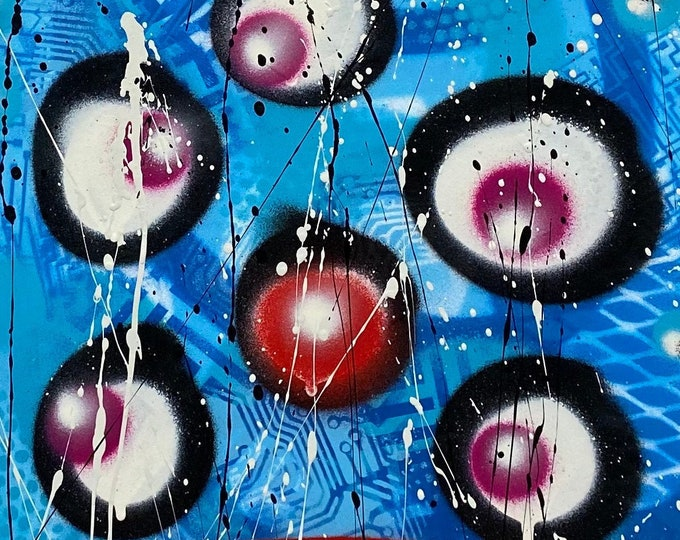 Title: Phizog Series no. 46 , Art , Pop Art , Modern Art , Contemporary Art , Surreal , Portrait , Figurative