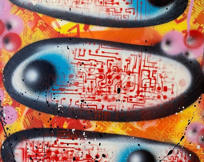 Title: One Eye , Two eyes , Three eyes , series #1