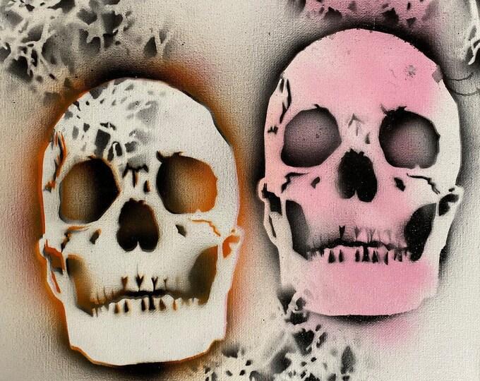 Skull Study Series #40 , Pop Art , Modern Art , Contemporary Art