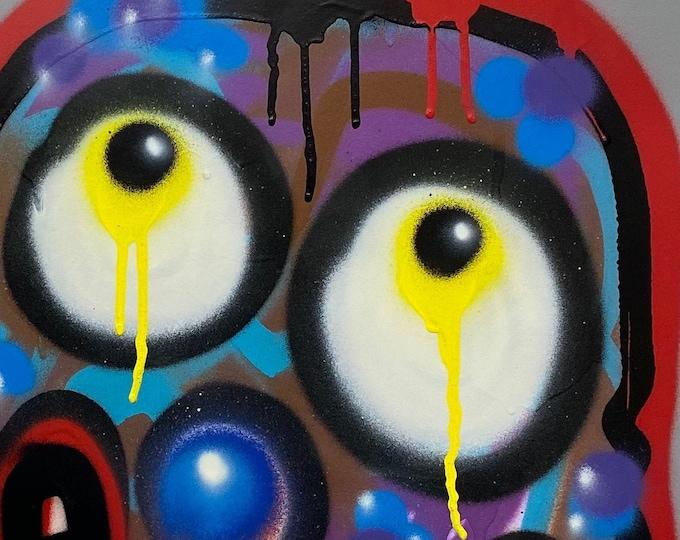 Title: Phizog Series no. 31 , Art , Pop Art , Modern Art , Contemporary Art , Surreal , Portrait , Figurative