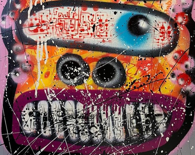 Title: One Eye , Two eyes , Three eyes , series #2