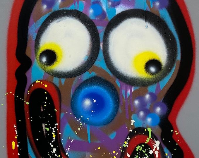 Title: Phizog Series no. 29 , Art , Pop Art , Modern Art , Contemporary Art , Surreal , Portrait , Figurative