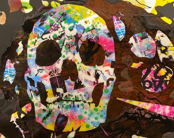 Skull Series , Pop Art , Modern Art , Contemporary Art