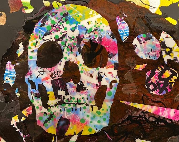 Skull Series , Pop Art , Modern Art , Contemporary Art