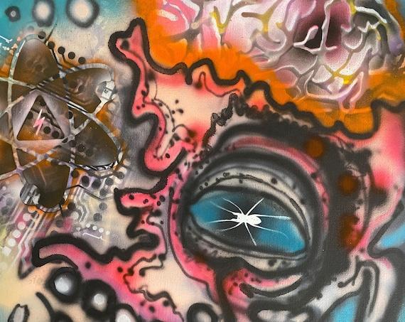 Bionic Surrealism Series #1 , Pop Art , Modern Art , Contemporary Art , Surrealism , Gallery Canvas