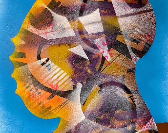 TITLE: Bulwark , Art , Pop Art , Modern Art , Contemporary Art , Surreal , Portrait , Figurative