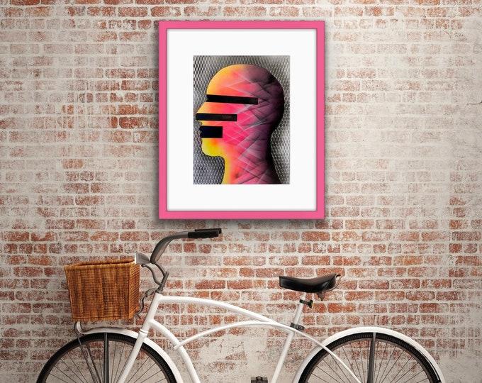 TITLE: More than human #2 , Art , Pop Art , Modern Art , Contemporary Art , Surreal , Portrait , Figurative